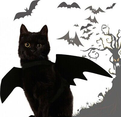 New Pets Dog Halloween Batmen Custome Bat Clothes Cat Dracula Party Outfit