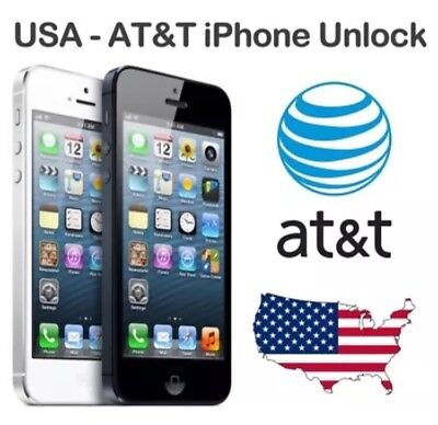 FACTORY UNLOCK SERVICE FOR AT&T ALL IPHONE CLEAN IMEI FAST