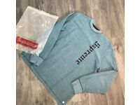 Supreme (Reverse Terry) slate sweater