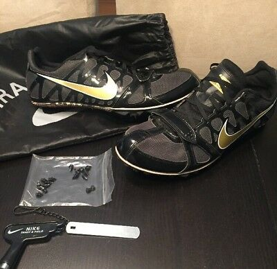 best website c8e66 428dd Nike Zoom Rival S 6 Men s Sprint Track Shoes 456812-071 Size 12 spikes