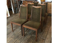 Set Of Six G-Plan Dining Chairs