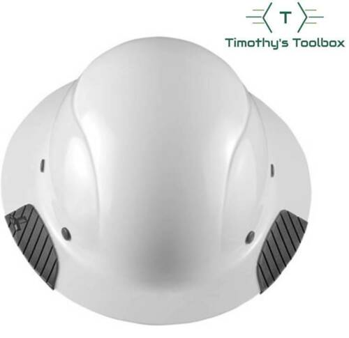 LIFT Safety HDF-15WG DAX White, Full Brim Hard Hat