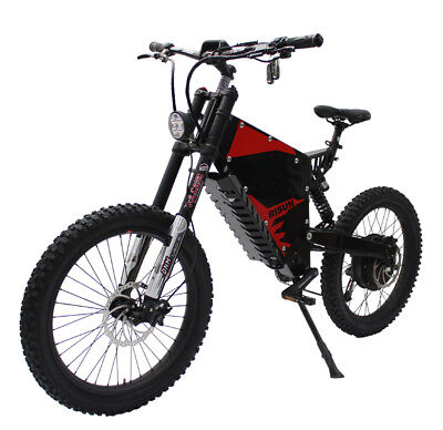 Risunmotor Super Power 60V2000W FC-1 Bomber e-motorcycle Electric Mountain Bike