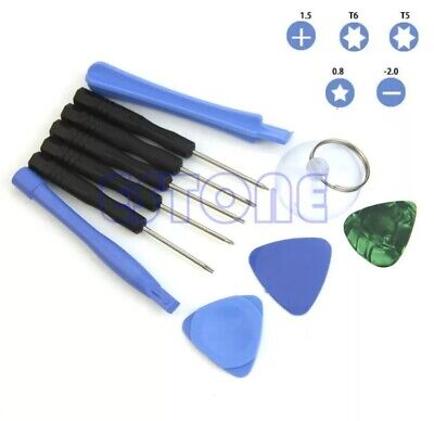 11 in 1 Phone Opening Tool Screen Remover PSP NDS Repair Pry Disassemble Kit- UK