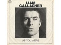 2 x seated Liam Gallagher tickets