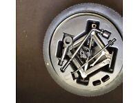 2010 KIA PICANTO Spare wheel kit (Includes wheel tyre jack)