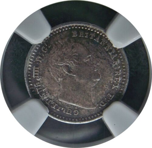 1836 Great Britain (Caribbean) Three Halfpence (1.5 P or 1-1/2 pence) NGC-MS63