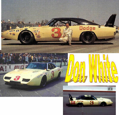 CD/_779-C  #42 Marty Robbins  Charger  1:18 Scale DECALS