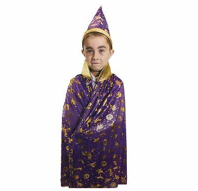 Kids Wizard Sorcerer Costume Ideal for Birthday Halloween Parties Accessories](Halloween Ideals)