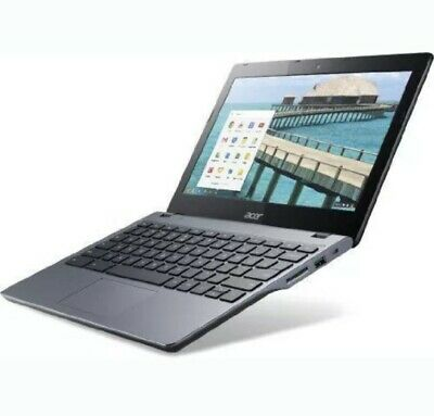 "Acer Chromebook  C720 11.6""  Celeron Dual Core 1.4Ghz 16GB SSD ChromeOS - £59.99"