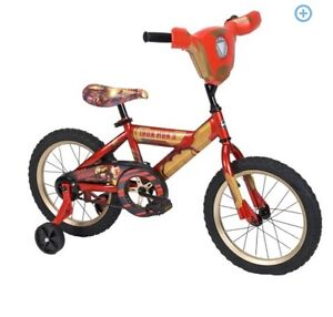 "16"" Huffy Marvel Iron Man Lights and Sounds Bike"