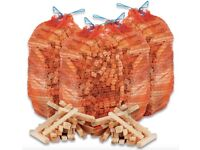 Kindling Sticks Super Dry Ready To Burn Firelighters £2.99 Or 2 Nets For £5 For Log / Coal Fires