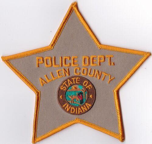 Allen County Police Dept. Indiana IN