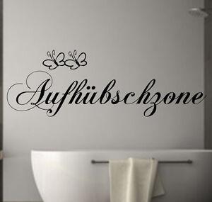 Wandtattoo badezimmer aufh bschzone fliesen schlafzimmer spruch wanddekoration ebay for Badezimmer fliesen tattoo
