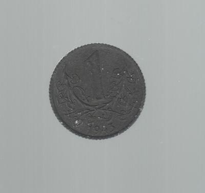 1 Koruna 1943 Bohmen u. Mahren . ab 5 auktionen portofrei