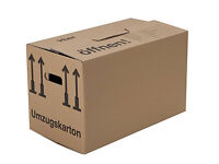 Professional Cardboard Boxes for House Removals