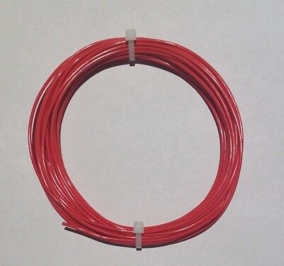 32 Awg Mil-spec Wire Ptfe Stranded Silver Plated Copper Type E Red 10 Ft