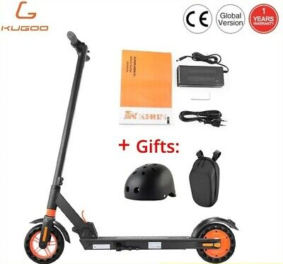 [KUGOO] KIRIN S1 Folding Electric Scooter 350W App Support -3 Speed [Free Gifts]