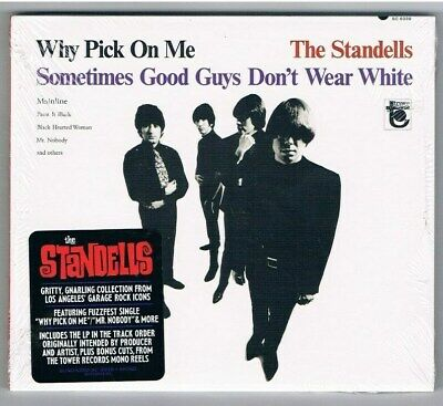 Standells - Why Pick On Me,1966er Album + 3 ,US Import CD Im Digipack/CD Neuware