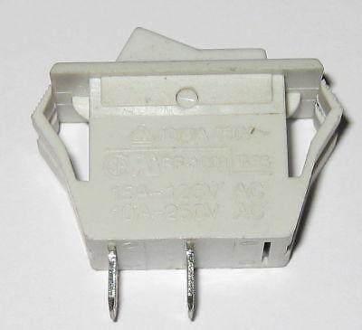 125v 15a Rocker Switch - Spst Switch - 250v 10a - Snap-in Panel Mount Switch