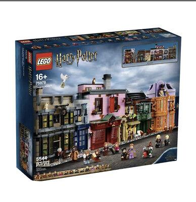 LEGO Harry Potter Diagon Alley (75978) 2020 Rare