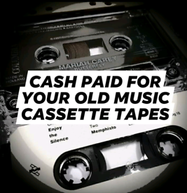 WANTED - MUSIC CASSETTE TAPES