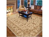 ** BRAND NEW ** Luxury LARGE Carpet RUG. Beautiful Classic Design. Soft to Touch & High Quality Pile