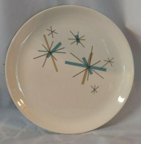"Salem North Star MCM Luncheon Plate 9"" Free Ship"