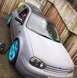 mk4 vw golf GTI 1.8 Turbo 3 door