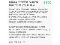 BRAND NEW Ei208 & Ei208WRF CARBON MONOXIDE (CO) ALARMS