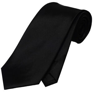 MENS 8.5CM TIE wedding formal plain solid business necktie neck CHOOSE COLOUR