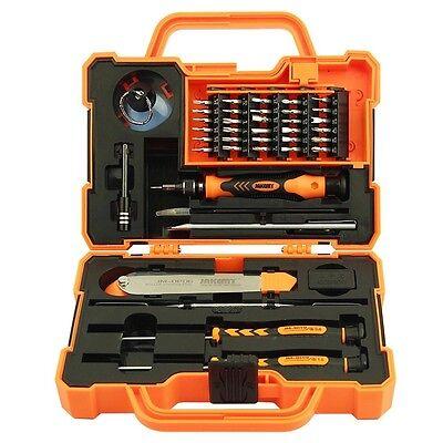 JAKEMY 43 in 1 Präzisions Werkzeug Koffer für Handy Tablet Reparaturen