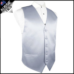 MENS HIGH QUALITY WAISTCOAT / VEST CHOOSE COLOUR & SIZE (36-50