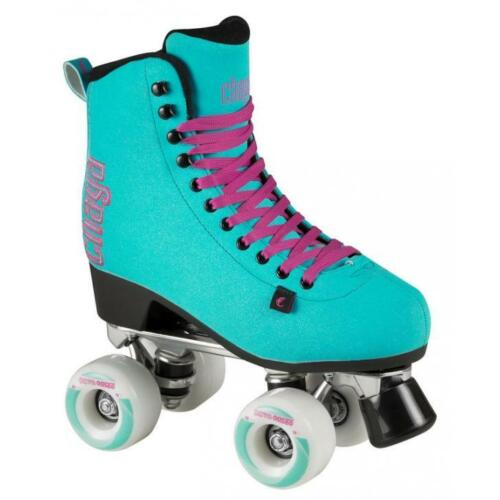 Chaya Melrose Deluxe Turquoise Indoor/Outdoor Quad Roller Skates
