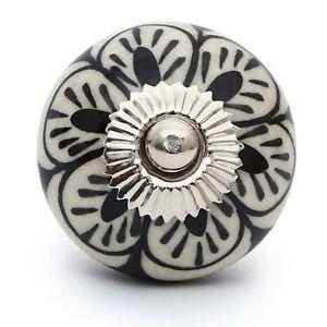 4-PCS-Knobs-antique-vintage-cupboard-drawer-handle-ceramic-puller-furniture