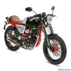 scooter 125cc caferacer euro4 nieuwe modellen