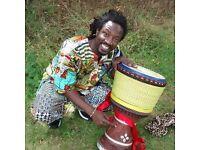 African Drumming Workshops - with Vieux Bakayoko - 13/08/16. Dundun & Djembe - Intermediate/Advanced