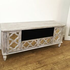 Bespoke, hand made TV unit and Sideboard