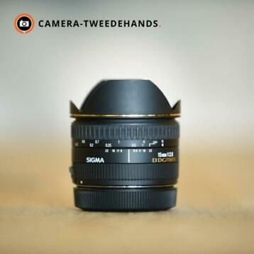 Sigma 15mm 2.8 EX DG Diagonal Fish-eye (Canon)