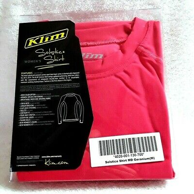 KLIM Solstice Shirt Active Sports Base Layer Womens (Solstice Sports)