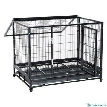 Cage chien XXL parc chien cage GEANTE cage chiot CHAT NEUF