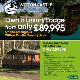 Caravan & Lodge Sales Open Weekend Witton Castle Country Park DL14 0DE,