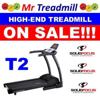 SOLID FOCUS T2 Treadmill **REDUCED TO CLEAR!!! Mr Treadmill Hendra Brisbane North East Preview