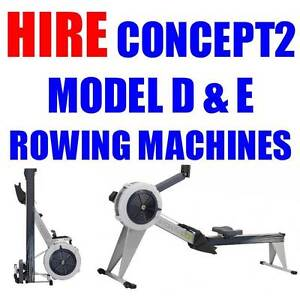 CONCEPT 2 Rowing Machine's Model D & E  for HIRE!!! Mr Treadmill Gordon Park Brisbane North East Preview