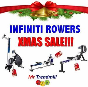 INFINITI ROWER ROWING MACHINES >> XMAS SALE!! | Mr Treadmill Geebung Brisbane North East Preview