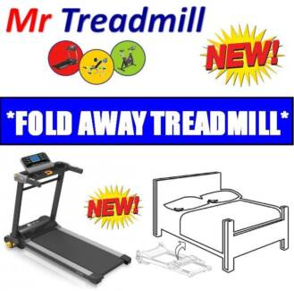 ***FOLDS AWAY!!!*** Xterra BT280 COMPACT Treadmill | Mr Treadmill Hendra Brisbane North East Preview
