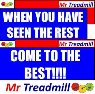 MR TREADMILL - WHERE QUALITY & SERVICE MATTERS!!!****************