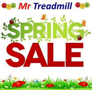 SPRING SALE!!!! PRICES SLASHED!!! | Mr Treadmill Hendra Brisbane North East Preview
