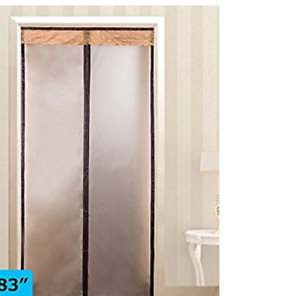 Magnetic Thermal Insulated Door Curtain