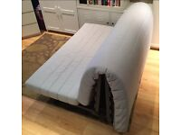 IKEA TWO SEATER SOFA BED (double) UP FOR SALE